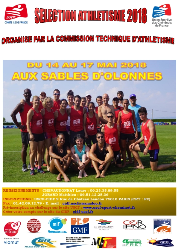 SELECTION ATHLETISME