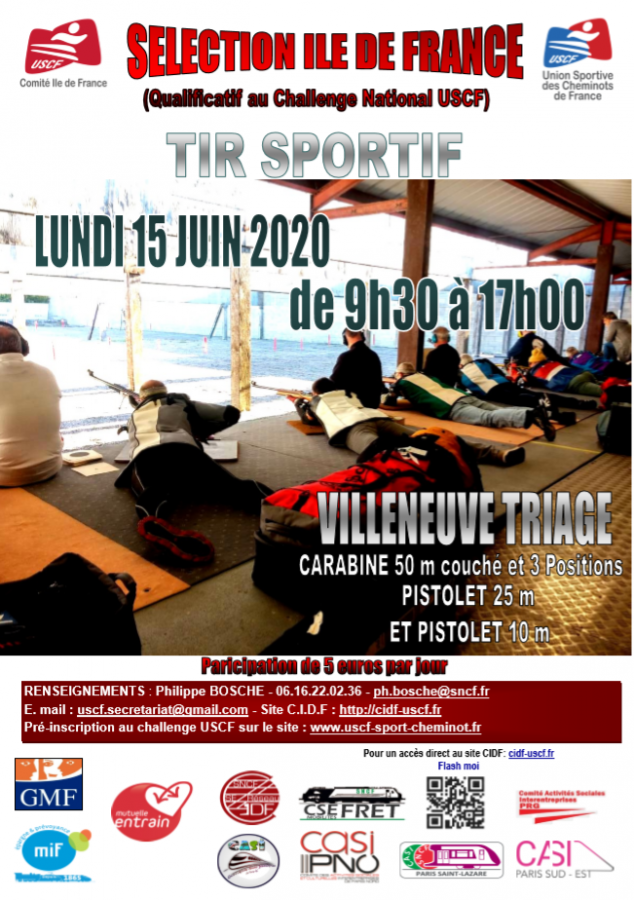 SELECTION DE TIR SPORTIF IDF
