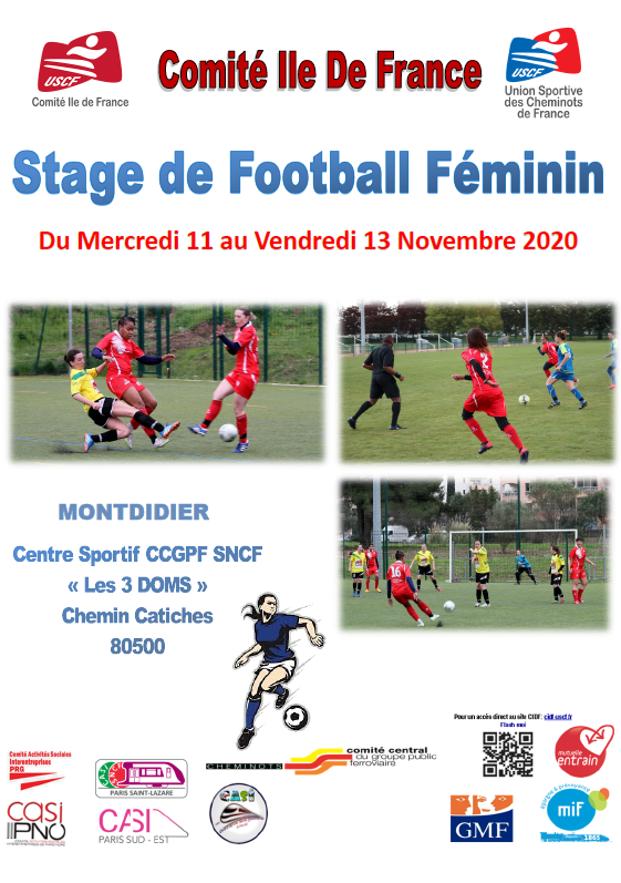 STAGE DE FOOTBALL FEMININ