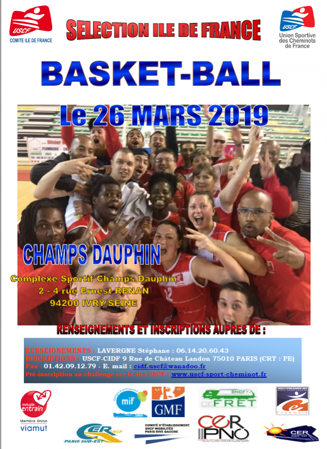 DETECTION BASKET FEMININES ET MASCULINS