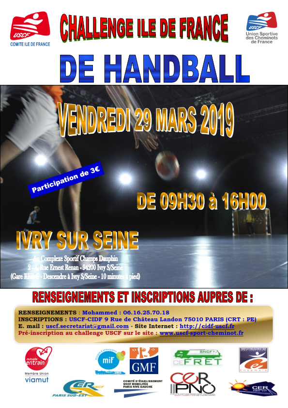 SELECTION DE HANDBALL