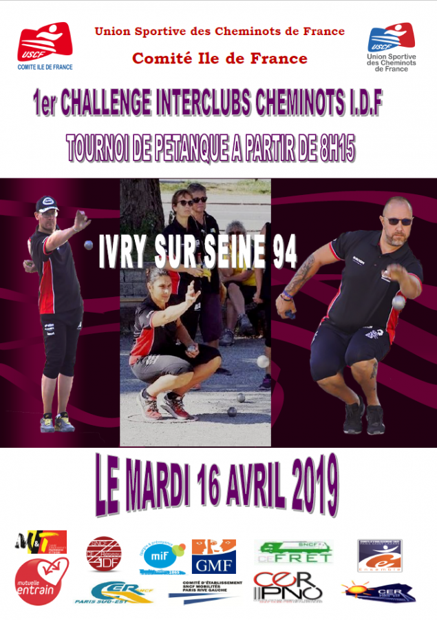 CHALLENGE INTER-CLUBS CHEMINOTS 2019